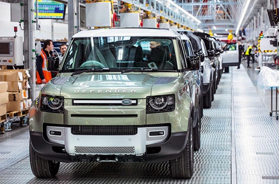 JAGUAR LAND ROVER DIPLOMATIC SALES